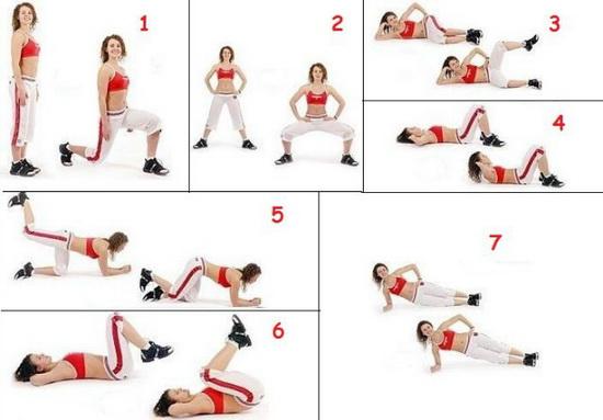 эффективное средство для похудения упражнения